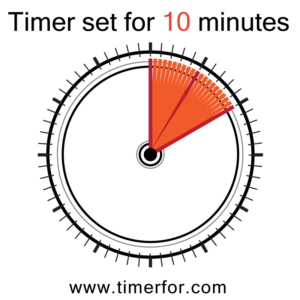 Set your timer