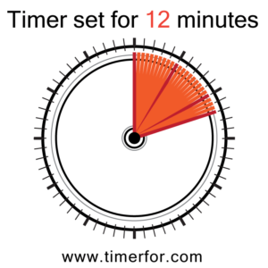 timer for 12 minutes